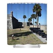 Castillo De San Marco I Shower Curtain