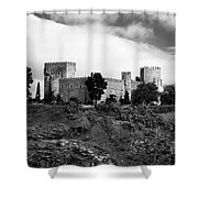 Castle And Clouds Shower Curtain