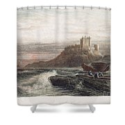 Castle: England, 19th C Shower Curtain