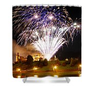 Castle Illuminations Shower Curtain