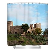Castle In Sunlight Shower Curtain
