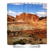Castle In The Distance Shower Curtain
