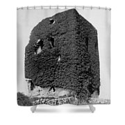 Castle Of The O Briens - Ruins - Near Galway Ireland - C 1901 Shower Curtain