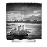 Castle Stalker Shower Curtain by Simon Marsden