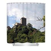 Castle Tirol Shower Curtain