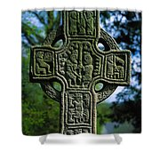 Castledermot, Co Kildare, Ireland North Shower Curtain