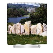 Castlewellan Castle, Castlewellan, Co Shower Curtain