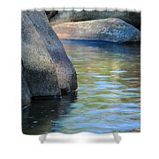Castor River Reflections Shower Curtain