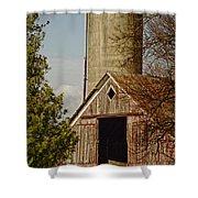 Castorland Barn Shower Curtain