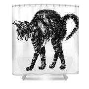 Cat-artwork-prints-2 Shower Curtain