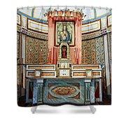 Cataldo Mission Altar - Idaho State Shower Curtain