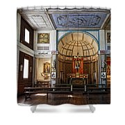 Cataldo Mission Altar And Interior Shower Curtain