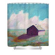 Catawba Virginia Barn Shower Curtain