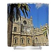 Catedral De Santa Maria De La Sede - Sevilla Shower Curtain