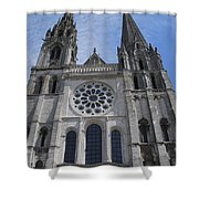 Cathedral At Chartres Shower Curtain