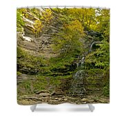 Cathedral Falls West Virginia Shower Curtain