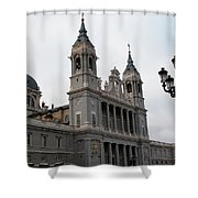 Cathedral Morning Shower Curtain