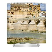 Cathedral Mosque In Cordoba Shower Curtain
