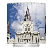 Cathedral Of Saint Louis Shower Curtain
