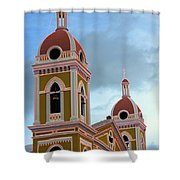 Cathedral On The Square 2 Shower Curtain