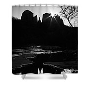 Cathedral Rock Sunrise Sedona Arizona Shower Curtain