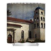 Catholic Church Old Town San Diego Shower Curtain