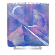 Cats Dreaming Shower Curtain