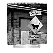 Cats Xing Shower Curtain