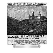 Catskills Hotel, 1884 Shower Curtain