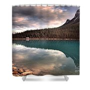 Caught In Reflections Shower Curtain