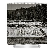 Cave Falls Shower Curtain