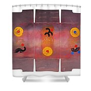 Cave Garment Shower Curtain