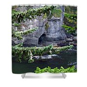 Cave Of The Bay Shower Curtain