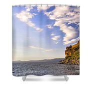 Cave Rock - Lake Tahoe Shower Curtain