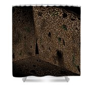 Cavern Walls Shower Curtain