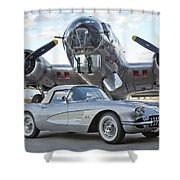 Cc 17 Shower Curtain
