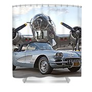 Cc 21 Shower Curtain