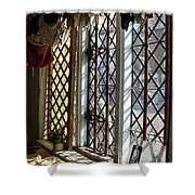 Cecilenhof Palace Window Shower Curtain