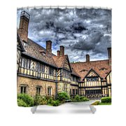 Cecilienhof Palace At Neuer Garten Berlin Shower Curtain