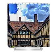 Cecilienhof Palace At Neuer Garten Shower Curtain