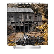 Cedar Creek Grist Mill Shower Curtain by Steve McKinzie