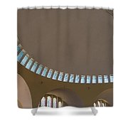 Ceiling With Windows Shower Curtain