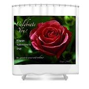 Celebrate You Shower Curtain