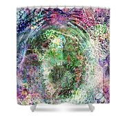 Cell Dreaming 2 Shower Curtain