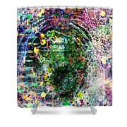Cell Dreaming 3 Shower Curtain