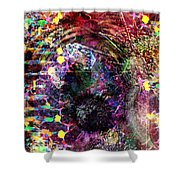 Cell Dreaming 4 Shower Curtain