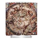 Cellariuss Constellations, 1660 Shower Curtain