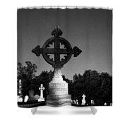 Celtic Cross- Natchez Mississippi Shower Curtain