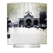 Cemetery Shower Curtain