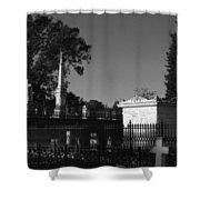 Cemetery- Natchez Mississippi Shower Curtain